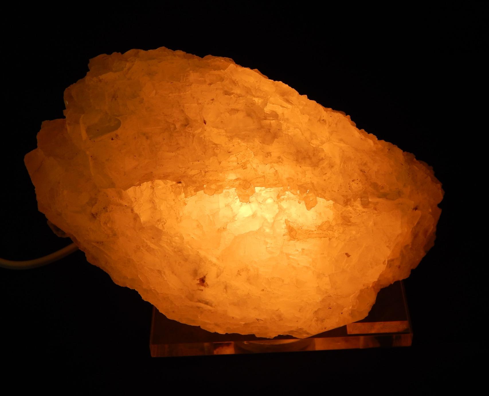 Art Sal nº 12 Lámpara de Sal